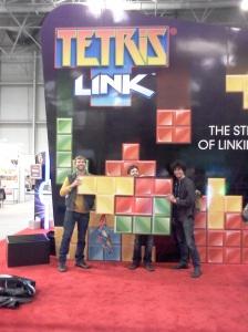 Tetris Link booth