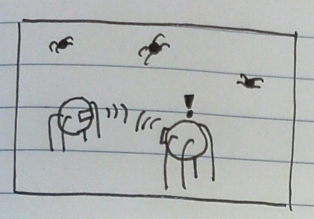 Simulated Hive Mind