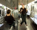 SWING ON SUBWAY by Caroline Woolard
