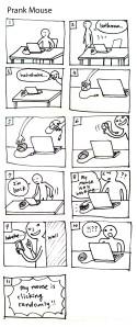 3.prank mouse